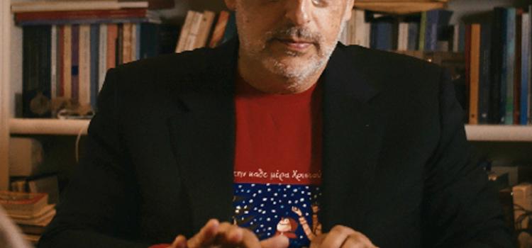 Ο συγγραφέας Βαγγέλης Ηλιόπουλος επισκέπτεται τη Δημοτική Βιβλιοθήκη Καβάλας ως  «Βαγγέλης των Χριστουγέννων»